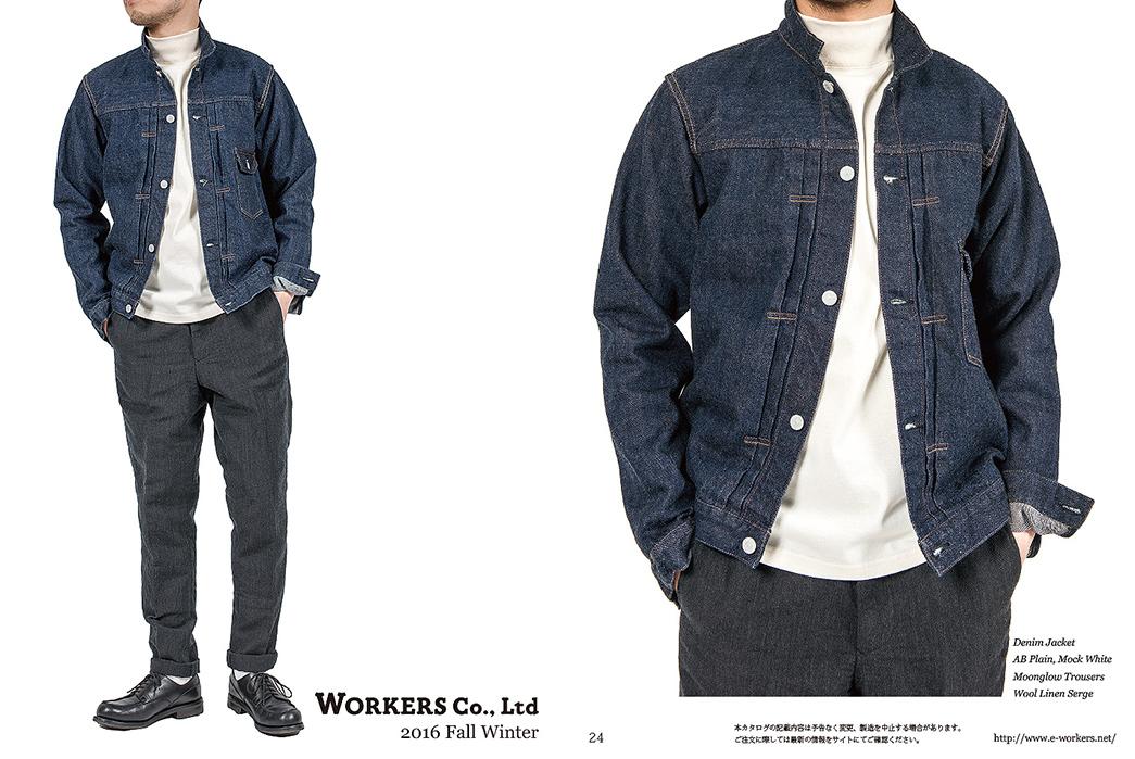 Japanese Prep Basics in Workers FW16 Lookbook