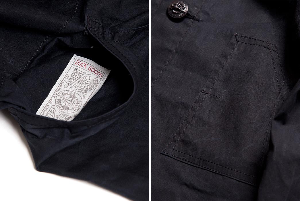 Studio D'Artisan Waxed Spring Coat