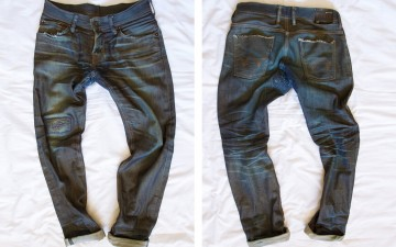 Fade of the Day - Edwin SEN 11.25oz. (3 Years, 2 Months, 2 Soaks)