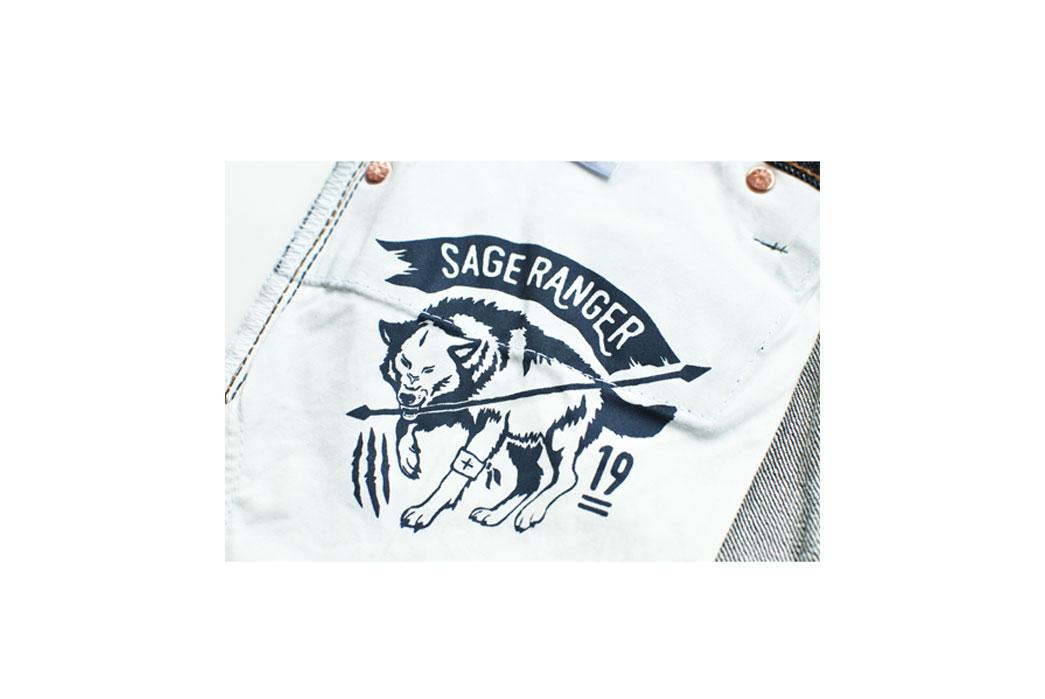 Sage Ranger III 19oz. Indonesian Selvedge Denim