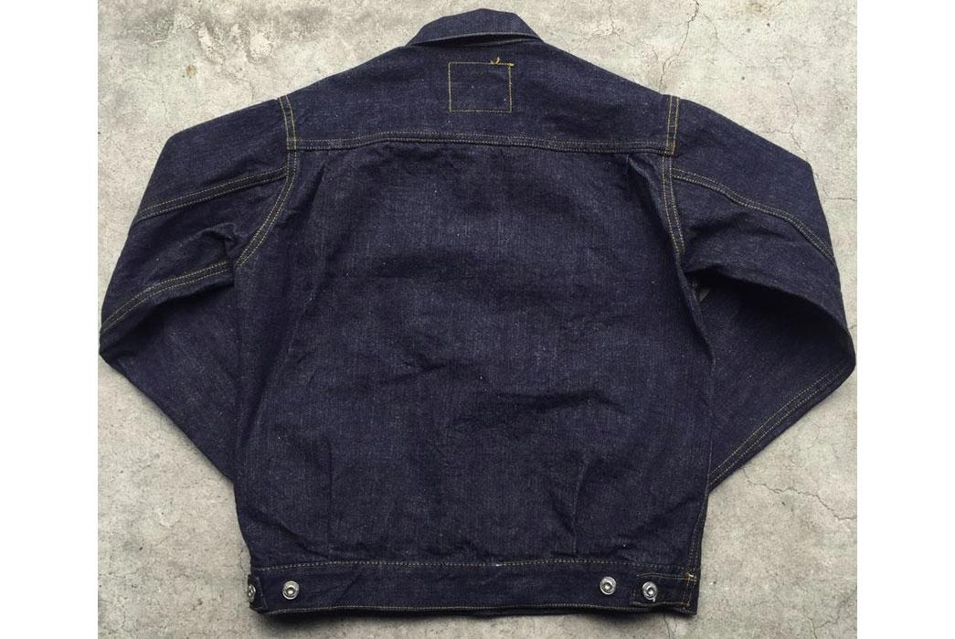 Samurai-Jeans-15oz-S0552XX-Denim-Jacket-Back