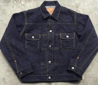 Samurai-Jeans-15oz-S0552XX-Denim-Jacket-Front