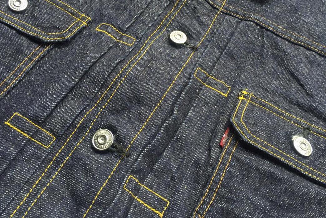 Samurai-Jeans-15oz-S0552XX-Denim-Jacket-Front-Buttons