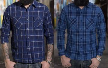 Sugar-Cane-34-Sleeve-Panama-Shirt,-'Desolate-Indigo-Castle'-Needlework-Shirt