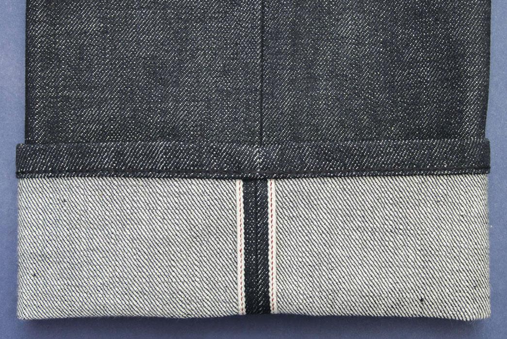 Tenue-de-Nimes-Dead-Stock-Blue-Jeans-Waist-Selvedge