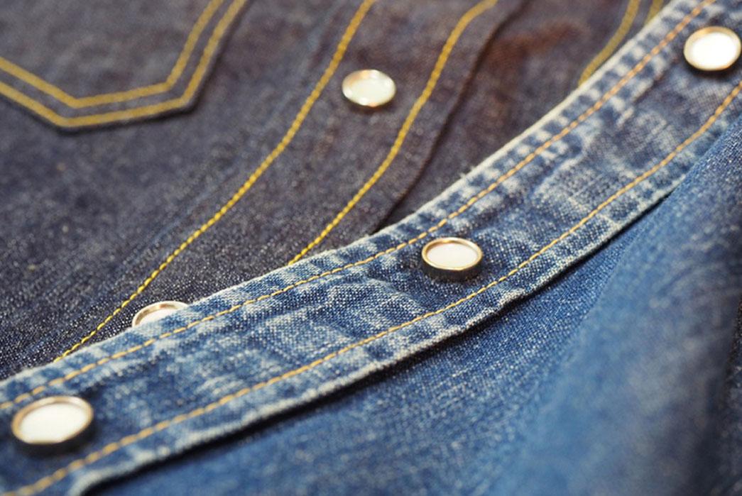 The-Flat-Head-7001W-Denim-Western-Shirt-new-vs-worn