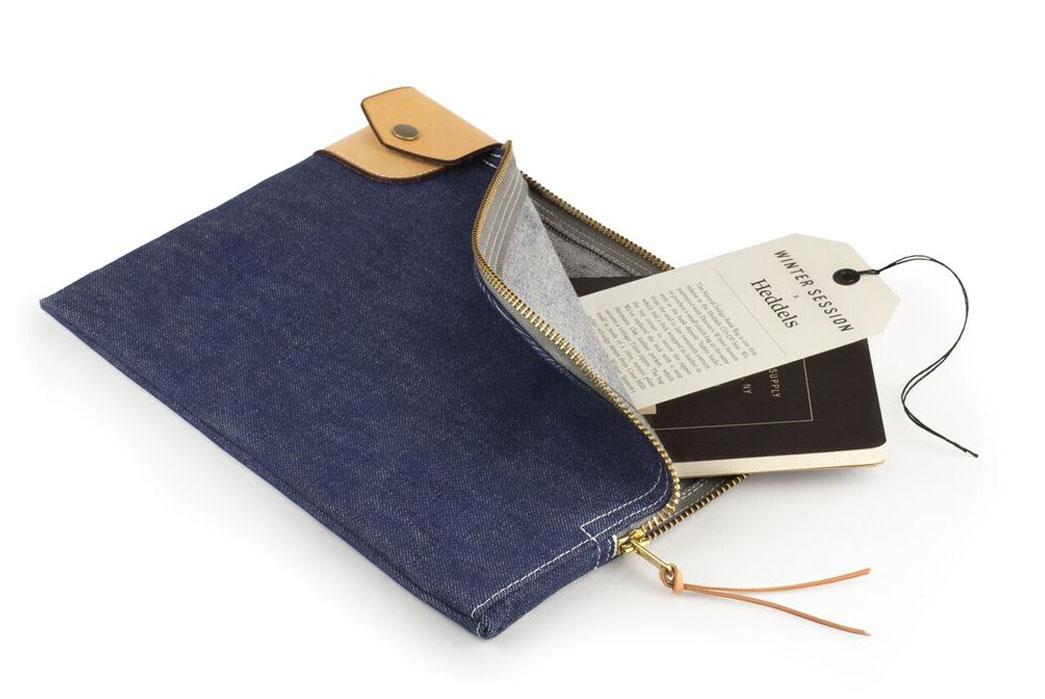 Heddels CO-OP 1: The Winter Session Natural Indigo Bank Bag