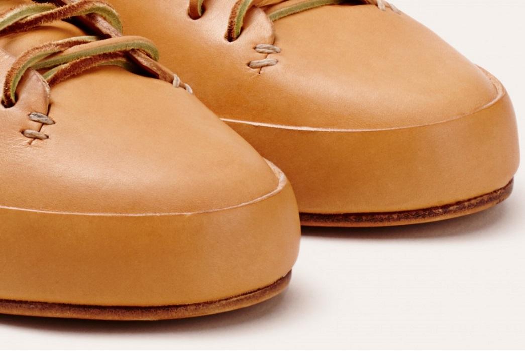 Veg-Tan Sneakers – Five Plus One