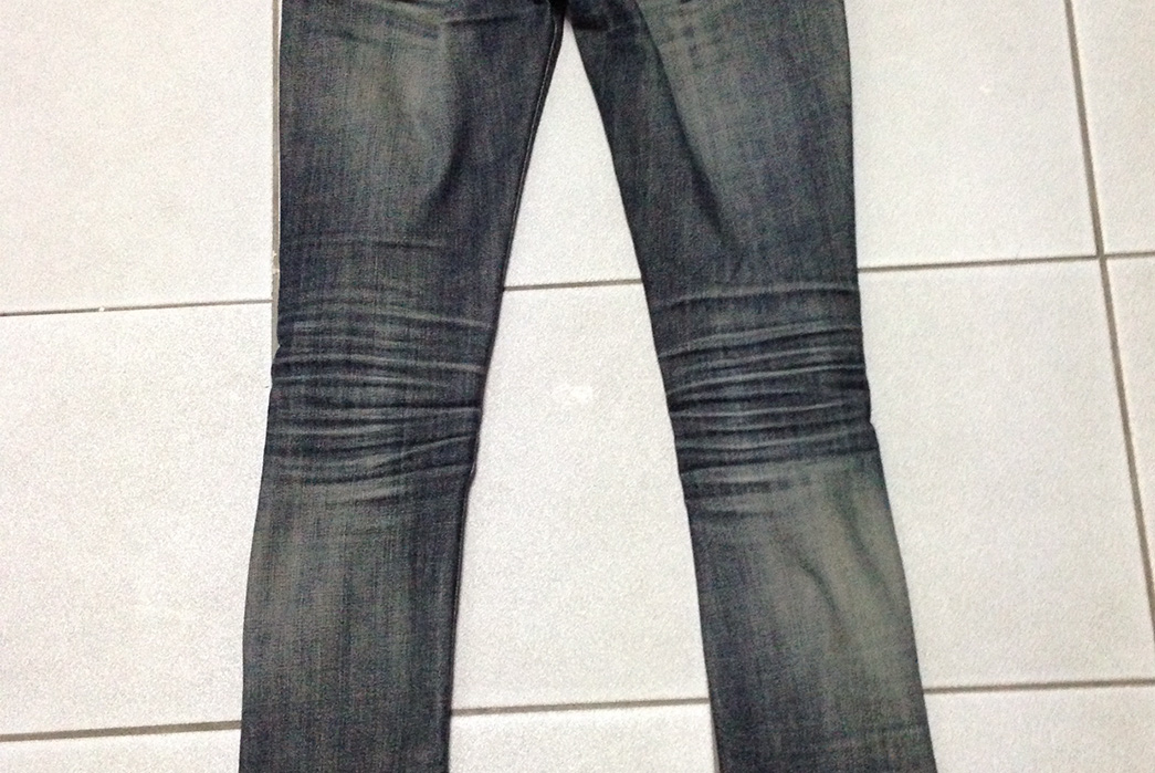 Fade of the Day – Nudie Jeans Co. Long John Twill Rinsed (1 Year, 1 Wash)