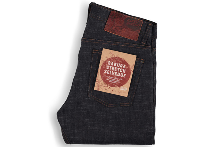 Naked & Famous Sakura Stretch Selvedge