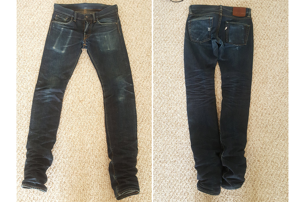 Fade of the Day – Pure Blue Japan XX-011 (7 Months, 3 Washes)