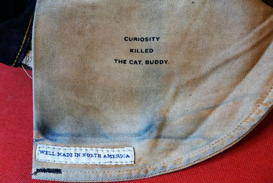 Noble Denim x Bulleit Bourbon Barrel Aged Jeans