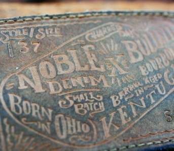 Noble Denim x Bulleit Bourbon Barrel Aged Jeans Revisited