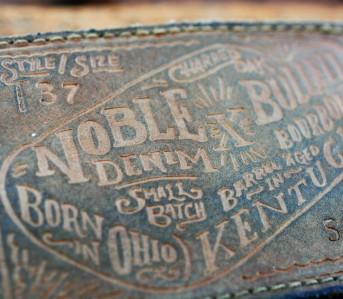Noble Denim x Bulleit Bourbon Barrel Aged Jeans Revisited