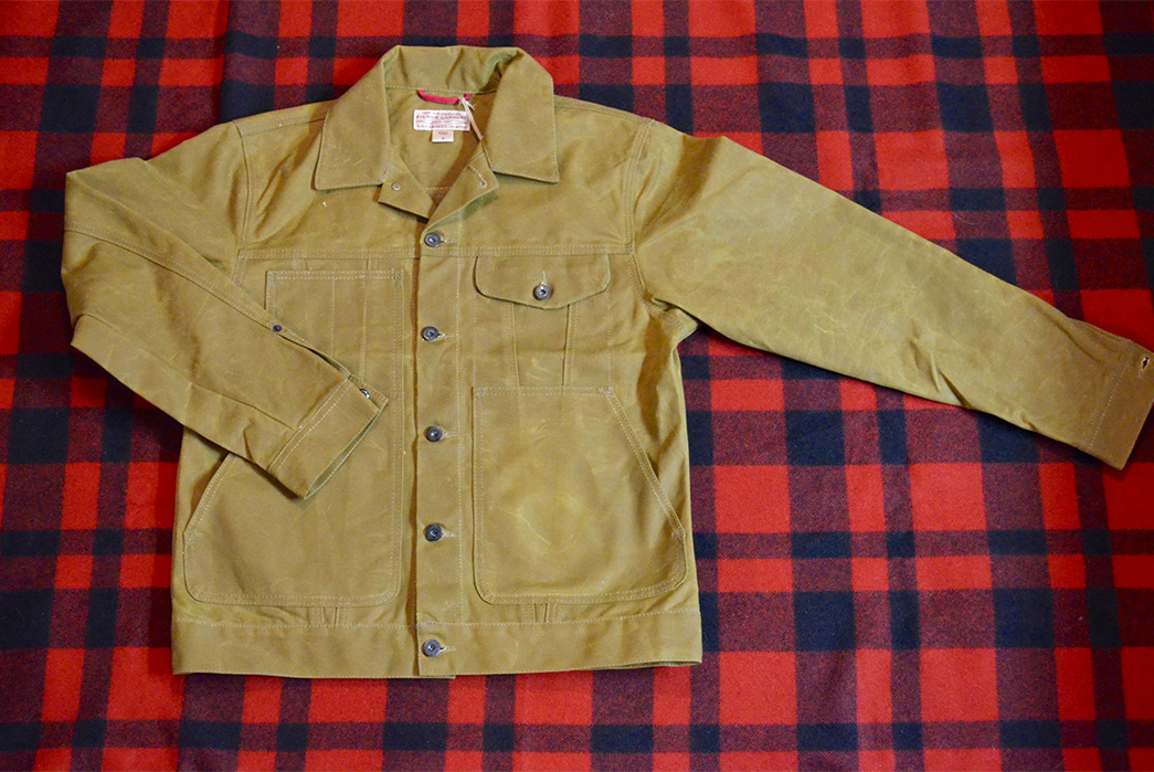 Fade of the Day - Filson Short Tin Cruiser (2 Years)