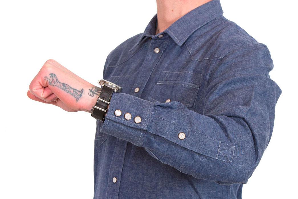 Eat-Dust-Cash-70s-Western-Denim-Workshirt-sleeve-details