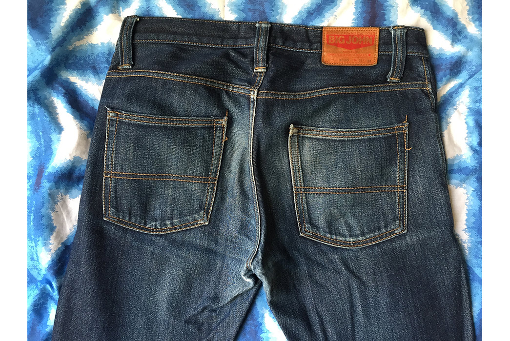 Fade of the Day - Big John M106D Faux Slub (2 Years, 4 Months, 2 Washes, 1 Soak)