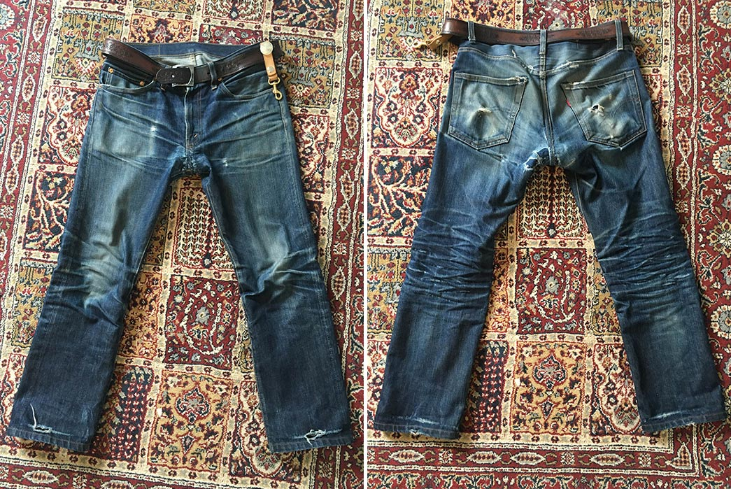 Fade of the Day – LVC 1967 505 (2 Years, 2 Months, 2 Washes)