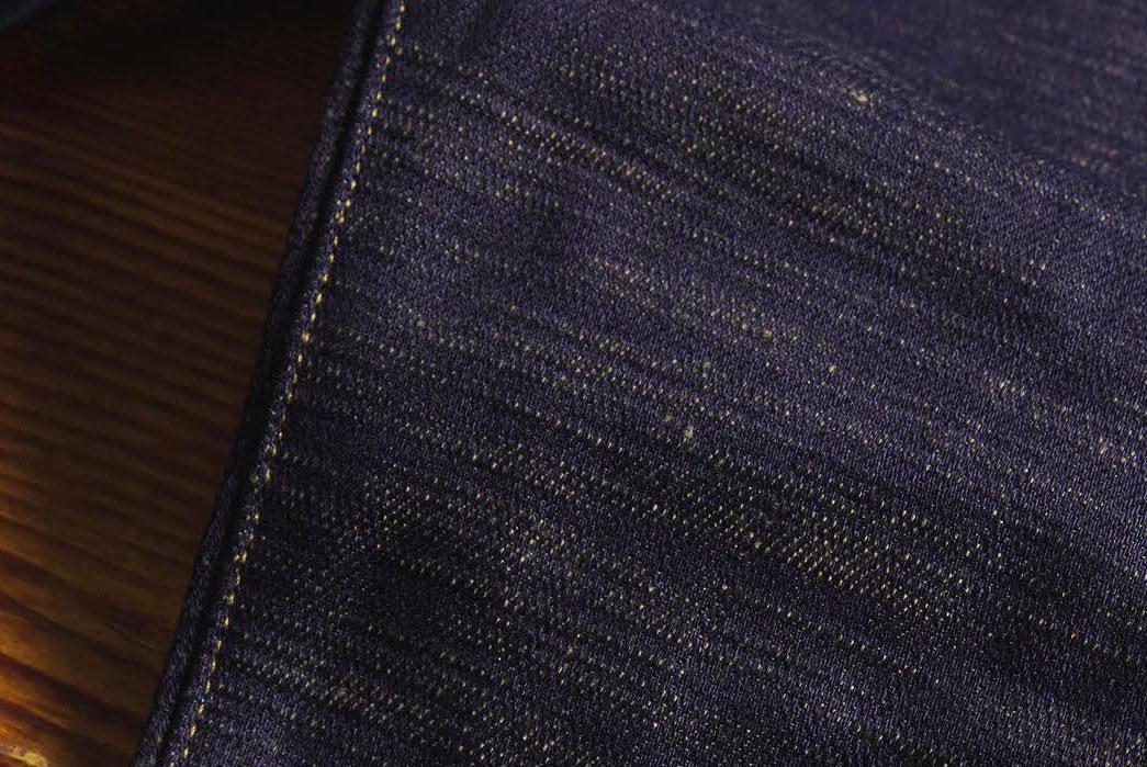Japan-Blue-'Godzilla'-18oz-High-Tapered-Selvedge-Denim-fabric
