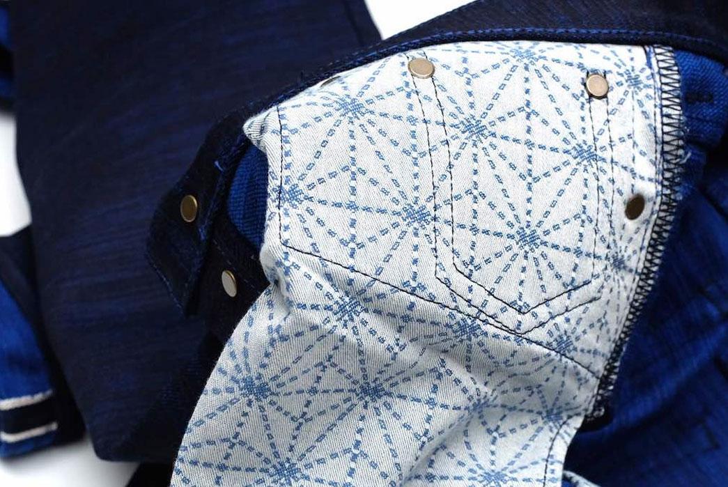 "Japan Blue x Okayama Denim ""Sapphire Slub"" 18oz. Selvedge Jeans, Jacket, Hat"