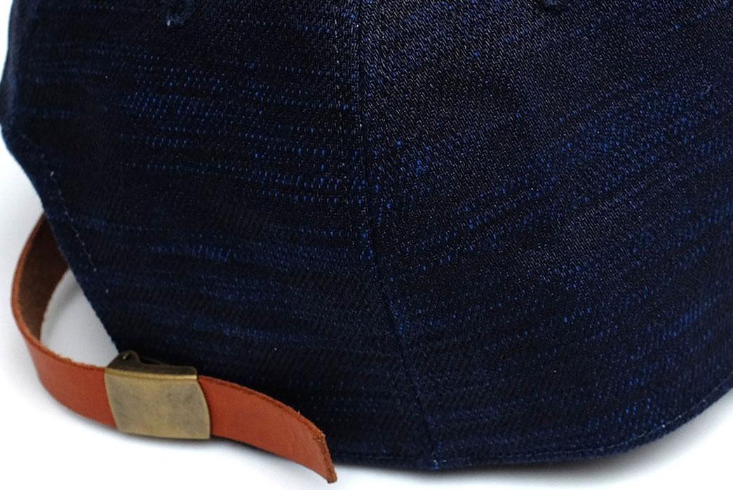 Japan-Blue-x-Okayama-Denim-'Sapphire-Slub'-18oz.-Selvedge-hat-buckle