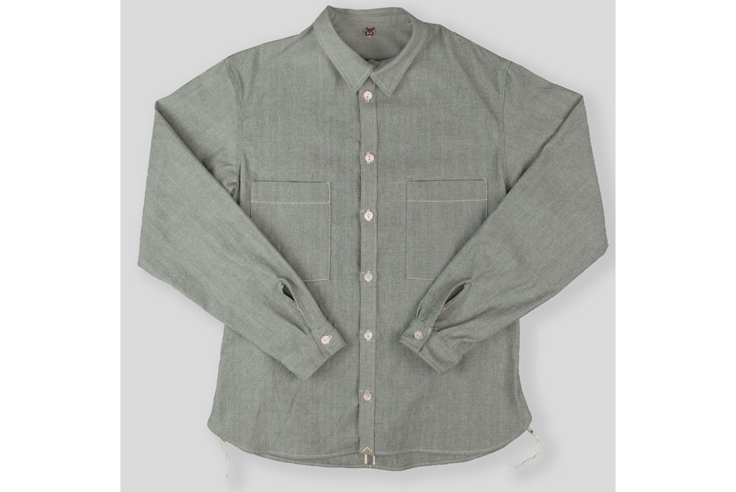 Mastersons-Huston-Textile-Co.-Selvaged-Loomstate-Chambray-Shirt