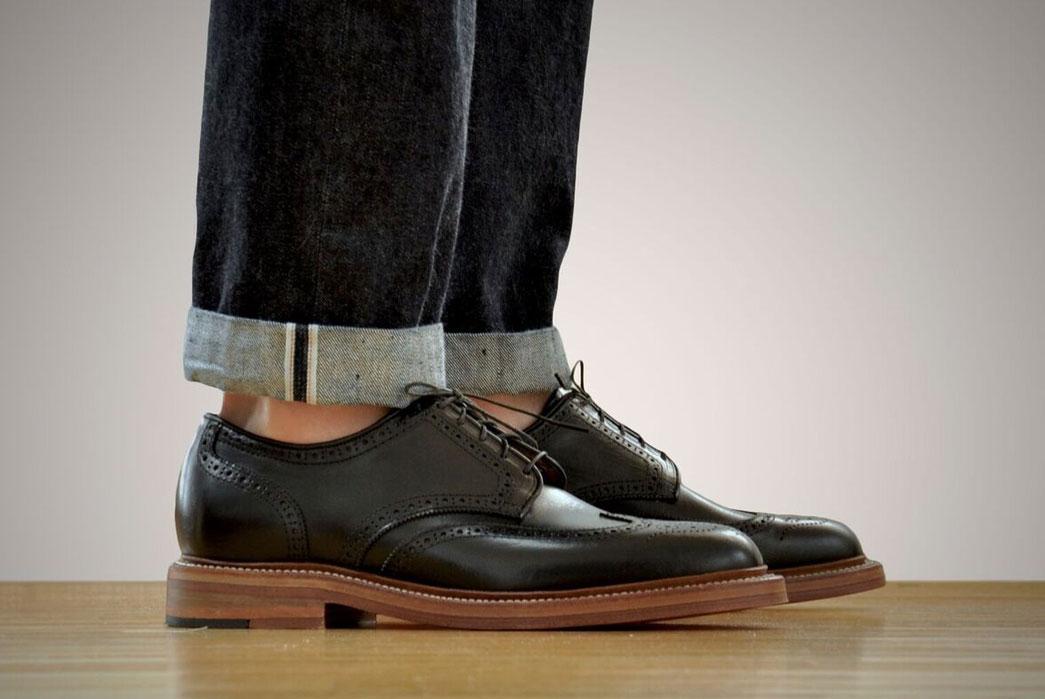 Oak-Street-Bootmakers-Double-Sole-Wingtip-Shoes-black-fit