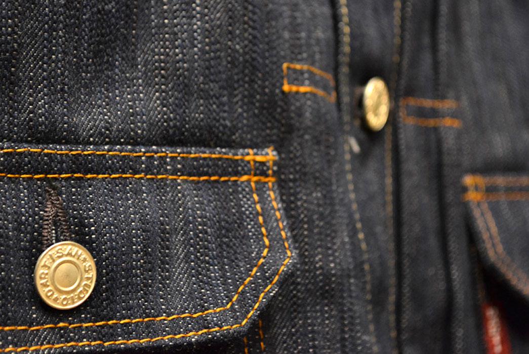 Studio-D'artisan-SDA-4385-AI-Natural-Indigo-Denim-Jacket-chest