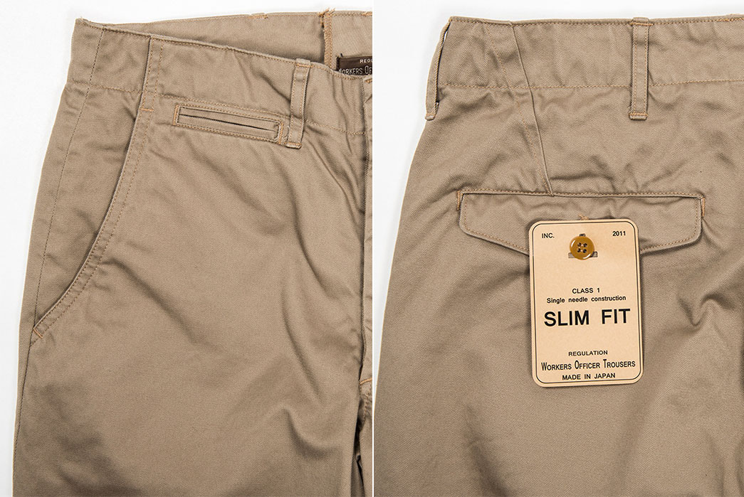 Workers-Office-Trousers-Slim-Tapered-Chino-Khaki-details