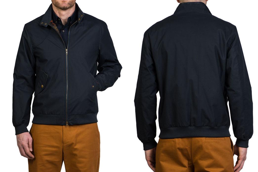 harrington-style-jackets-five-plus-one-2-ball-and-buck-the-harrington-jacket-in-waxed-navy