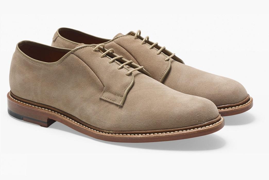allen-edmonds-suede-plain-toe-blucher-shoe