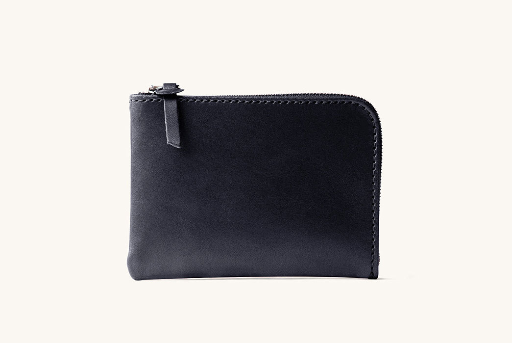 Tanner Goods Universal Zip Wallets in 3oz. Bridle Leather