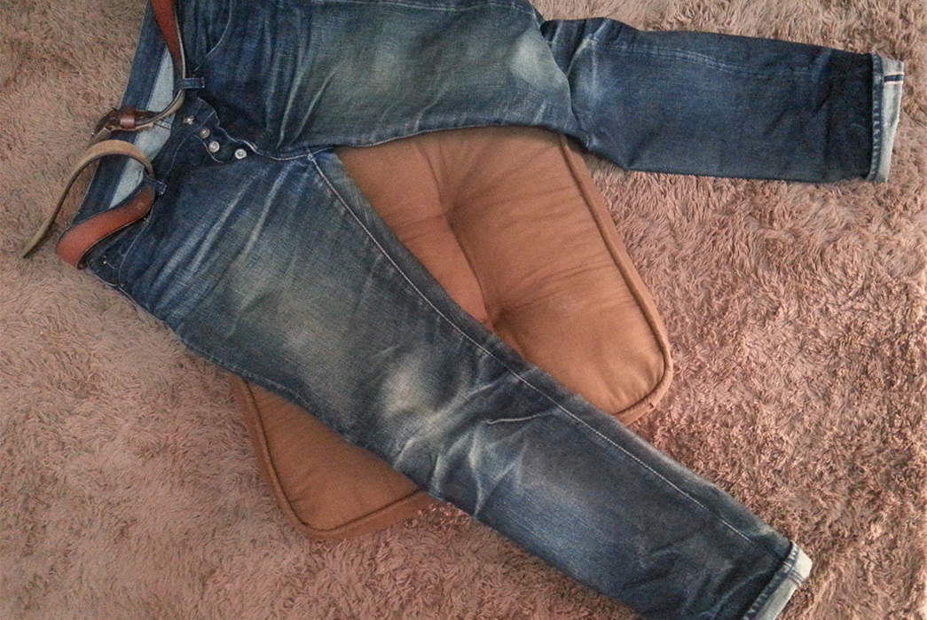 Fade of the Day - Akaime A5 Slim Fit (1 Year, 5 Months, 2 Washes, 2 Soaks)