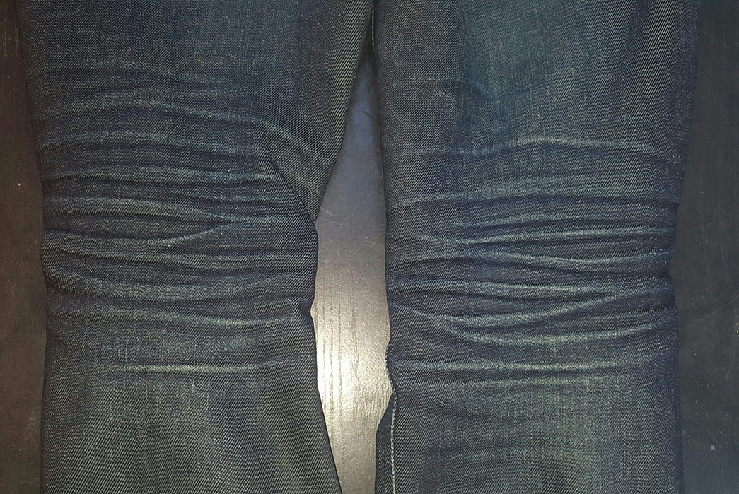 Fade of the Day – Nudie Jeans Co. Tape Ted 16 Dips Dry (11 Months, 0 Washes)