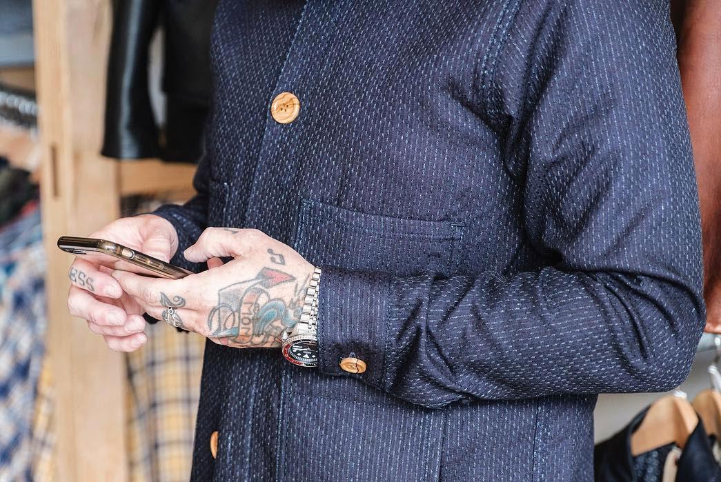 3sixteen-Sashiko-Indigo-Work-Jacket-closeup