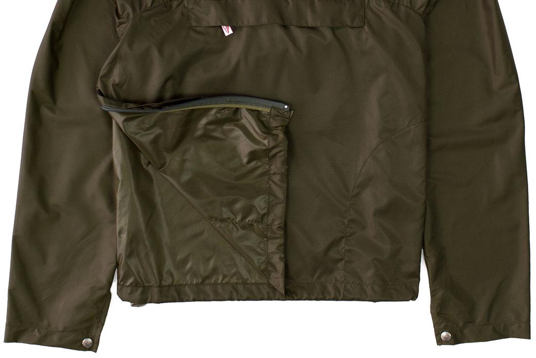 Battenwear-x-Ace-Hotel-Packable-Ripstop-Anorak-bottom-closeup