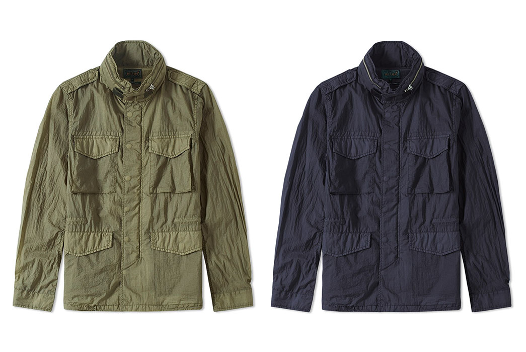 Beams-Plus-Garment-Dyed-Nylon-M65-Jackets-both