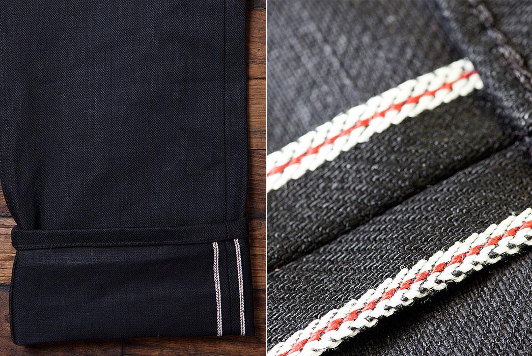 Collect-Mills-Black-Maria-Greaser-Jean-18-OZ-selvedge-hem