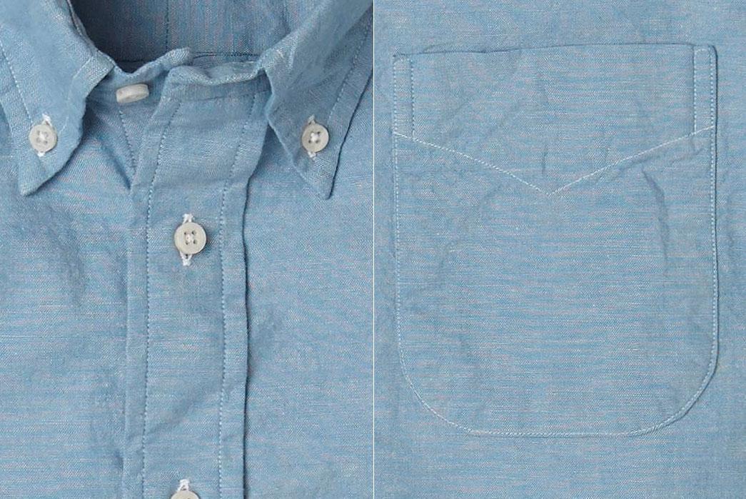 Gitman-Bros.-Vintage-Kapok-Blue-Kapok-Chambray-Shirt
