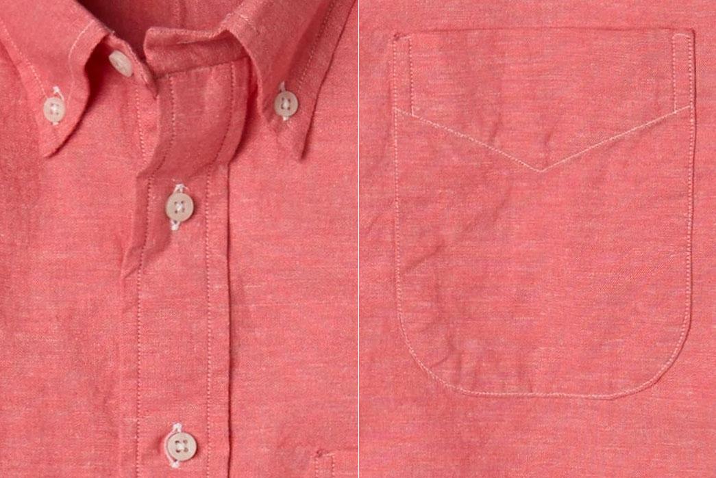 Gitman-Bros.-Vintage-Kapok-Red-Kapok-Chambray-Shirt