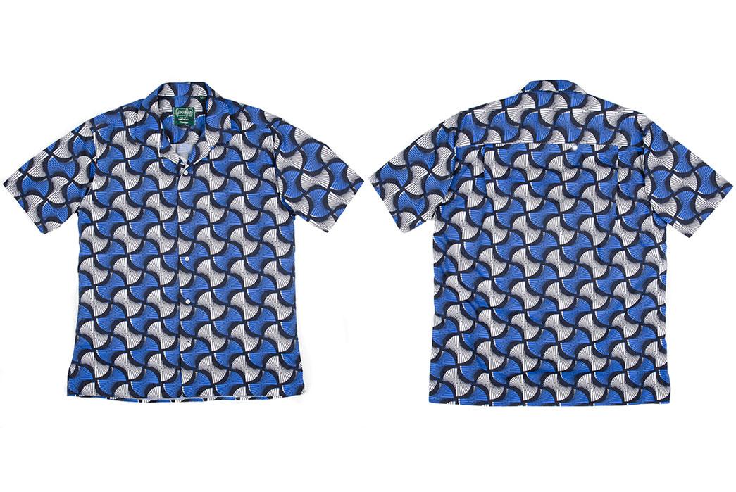 Gitman-Vintage-Short-Sleeve-Afric-Geometric-Shirt-Front-and-Back