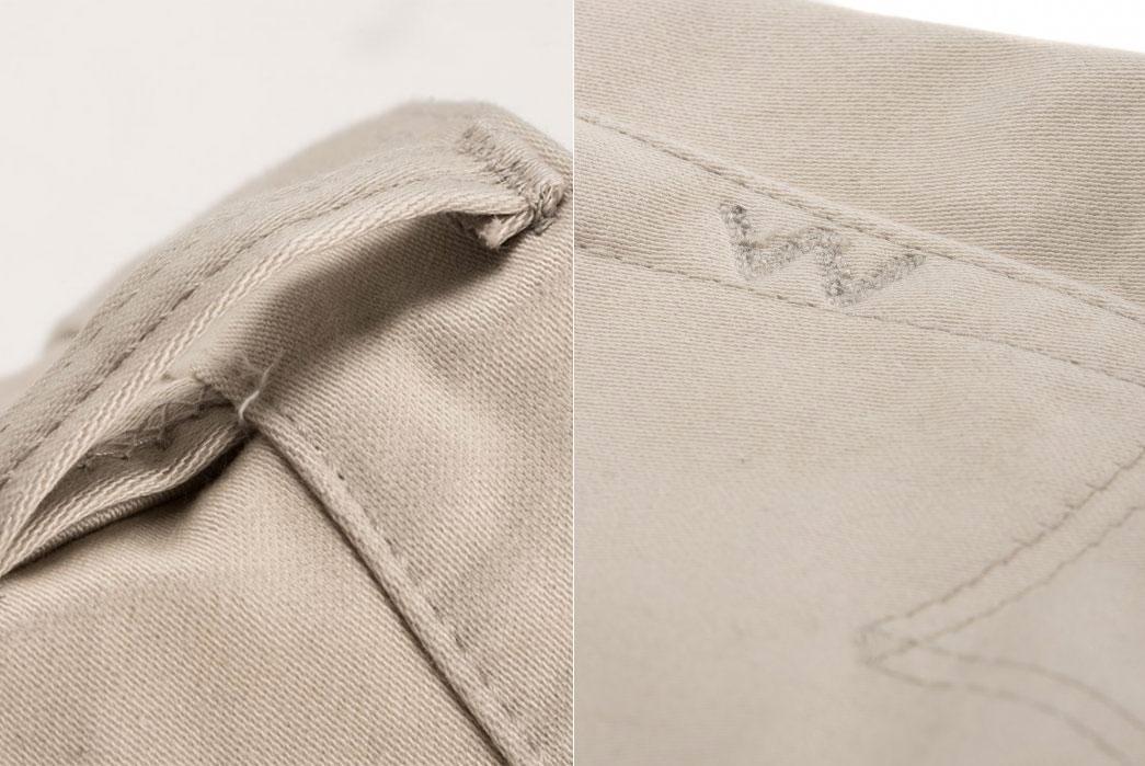 Iron-Heart-14oz-Ivory-Cotton-Satin-Slim-Cut-Jean-(The-Devil's-Fit)-IH-666S-ST-beltloop-back-pocket
