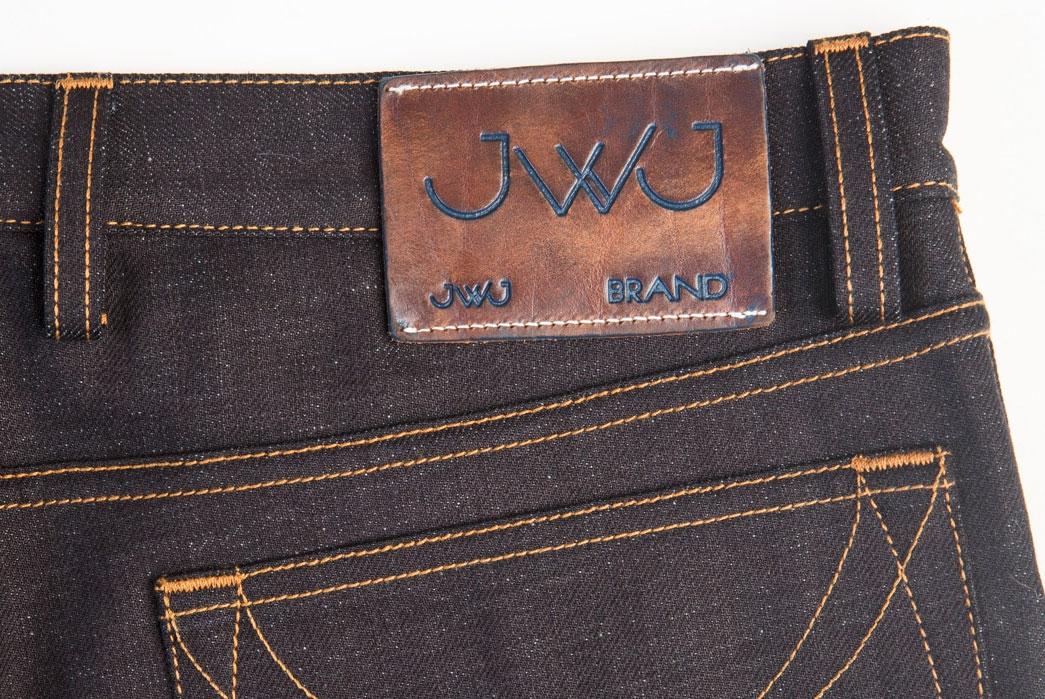 JWJ-Brand-Blue-U-Dark-Warp-11.5oz.-Jeans-leather-patch
