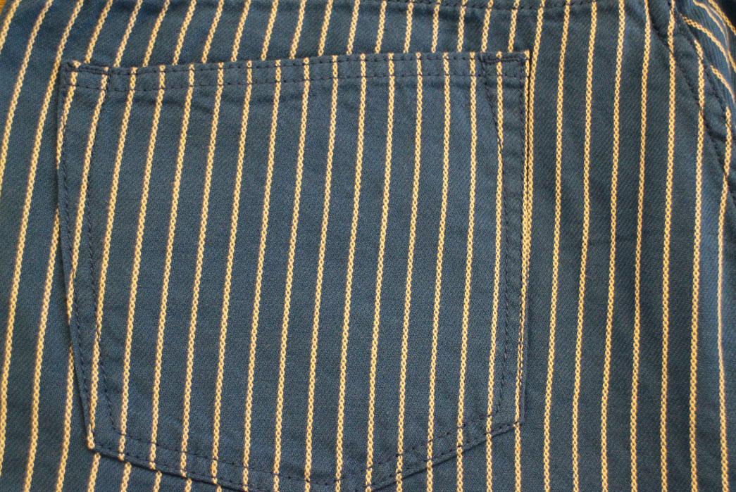 Japan-Blue-Dobby-Stripe-Indigo-and-Natural-Shorts-back-pocket