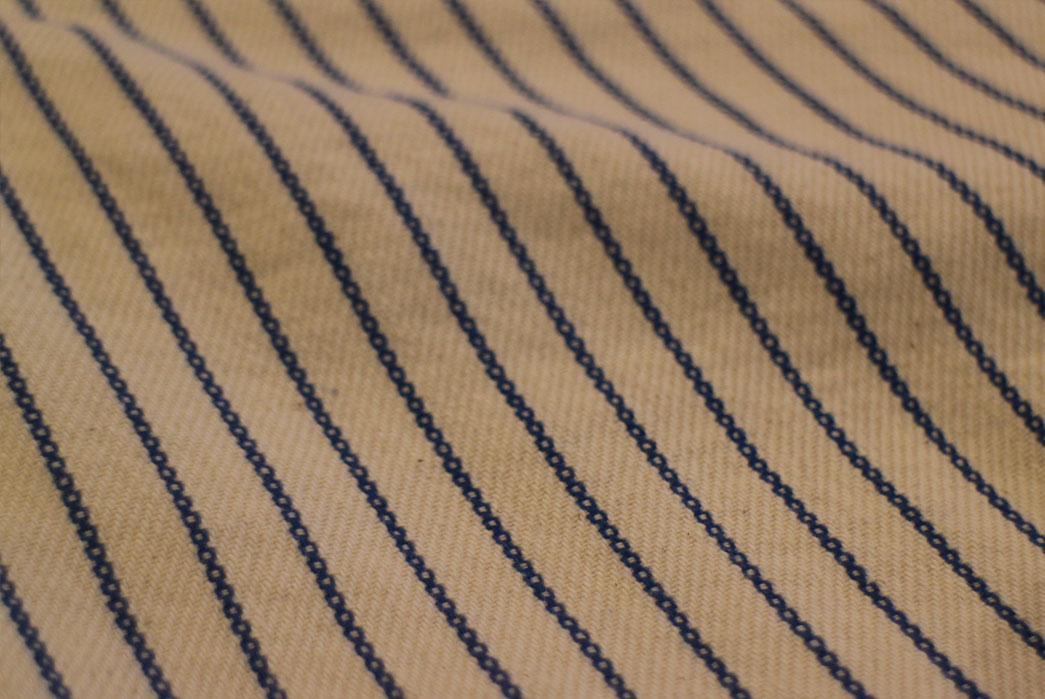 Japan-Blue-Dobby-Stripe-Indigo-and-Natural-Shorts-fabric-light