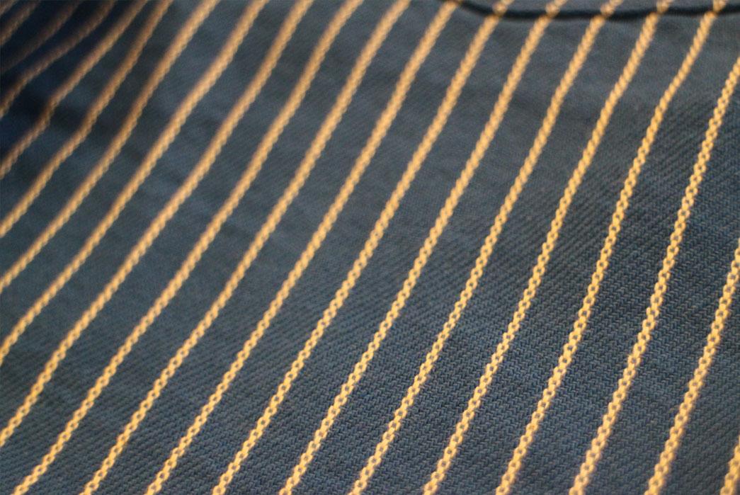 Japan-Blue-Dobby-Stripe-Indigo-and-Natural-Shorts-fabric
