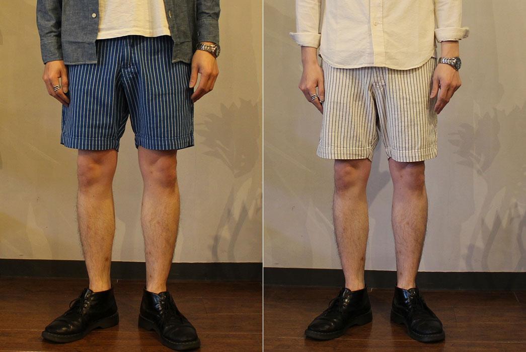 Japan-Blue-Dobby-Stripe-Indigo-and-Natural-Shorts-fit