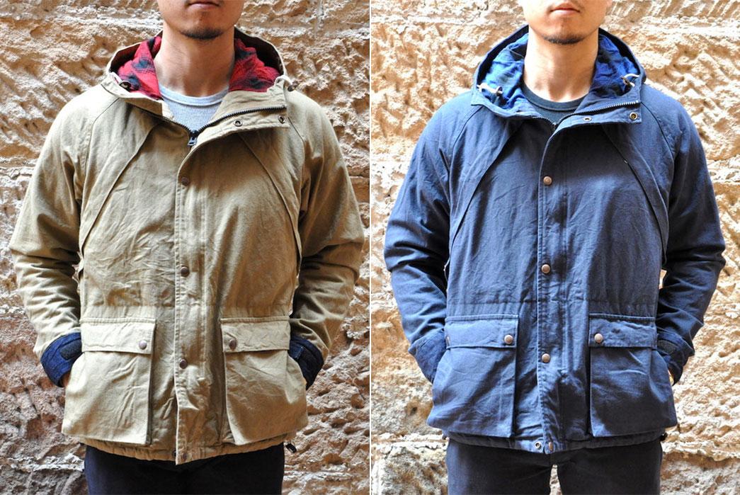 Momotaro-Duck-Canvas-Mountain-Parkas-front-fit