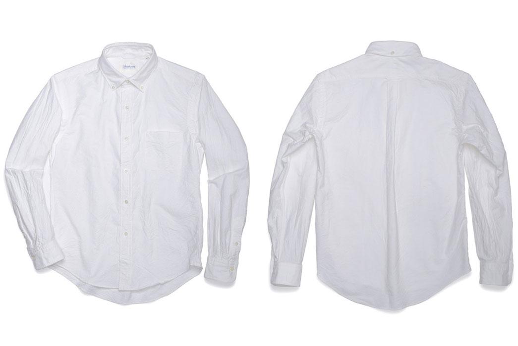 Shuttle-Notes-Officer-Shirt - White