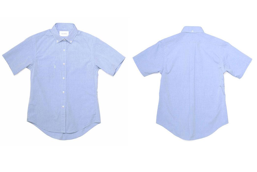 Shuttle-Notes-Officer-Short-Shirt-Blue
